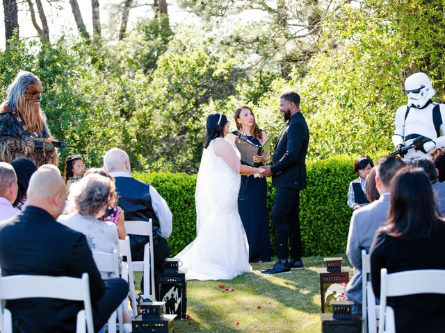 Joseph and Jennifer's Wedding in Meadow Vista, California 73