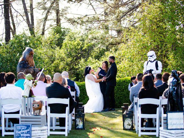 Joseph and Jennifer's Wedding in Meadow Vista, California 82