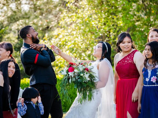 Joseph and Jennifer's Wedding in Meadow Vista, California 93