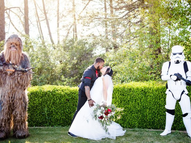 Joseph and Jennifer's Wedding in Meadow Vista, California 96