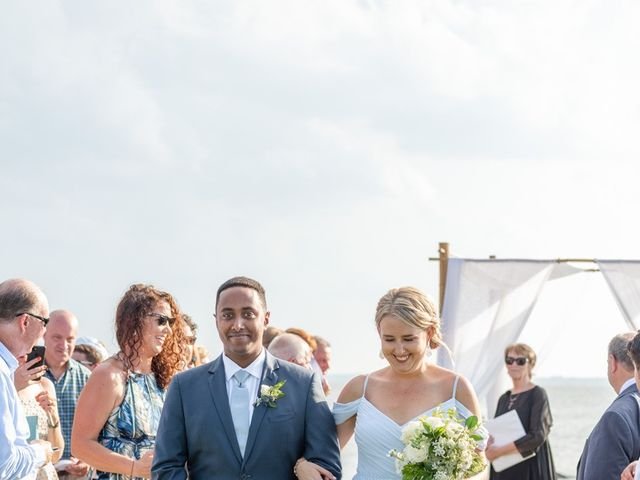 Bernabas and Lauren's Wedding in Corolla, North Carolina 25