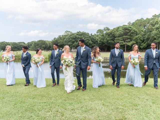 Bernabas and Lauren's Wedding in Corolla, North Carolina 61