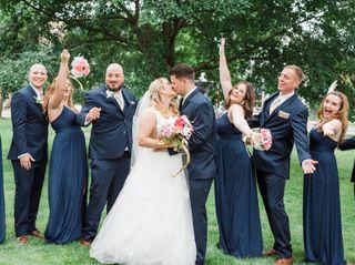 The wedding of Savanna and Tyler 1