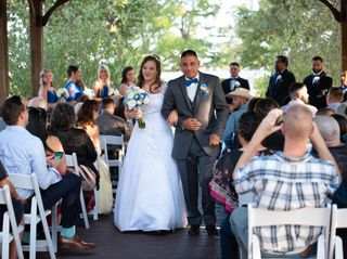 The wedding of Roy and Kathleen 2