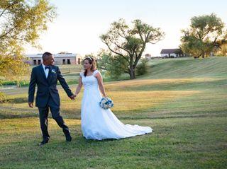 The wedding of Roy and Kathleen