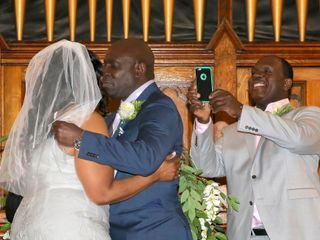 The wedding of Yvonne and Renford 2