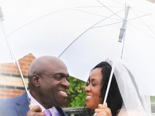 The wedding of Yvonne and Renford 3
