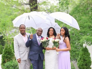 The wedding of Yvonne and Renford
