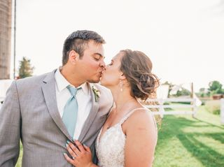 The wedding of Vinner and Megan