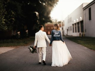 The wedding of Julia and Tyler 1