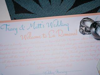 The wedding of Tracy and Matt 1