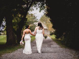 The wedding of Caitlin and Kayla