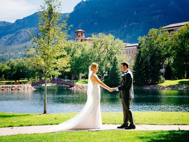 Eric and Sara's Wedding in Colorado Springs, Colorado 10
