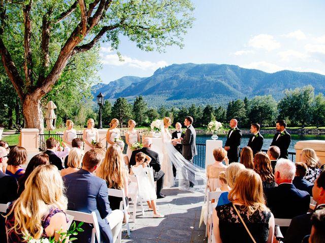 Eric and Sara's Wedding in Colorado Springs, Colorado 32
