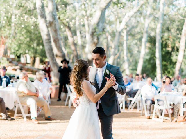 Dru and Jenn's Wedding in Sedona, Arizona 8