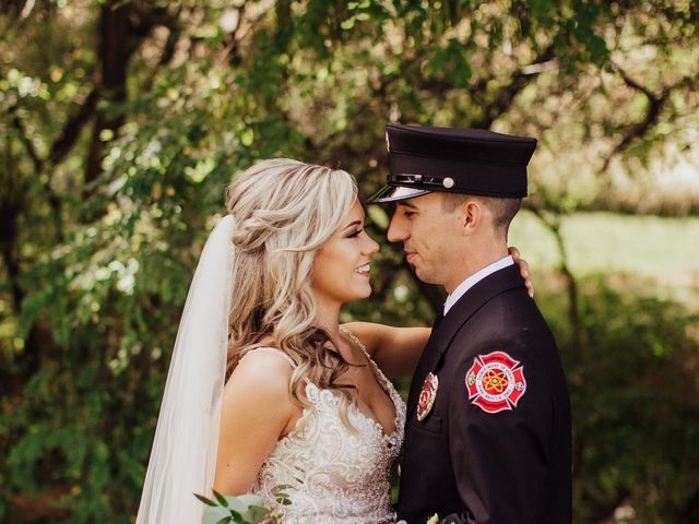 Danielle and Dalton's Wedding in Weston, Oregon 18