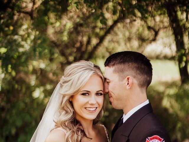 Danielle and Dalton's Wedding in Weston, Oregon 20