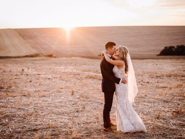 Danielle and Dalton's Wedding in Weston, Oregon 56
