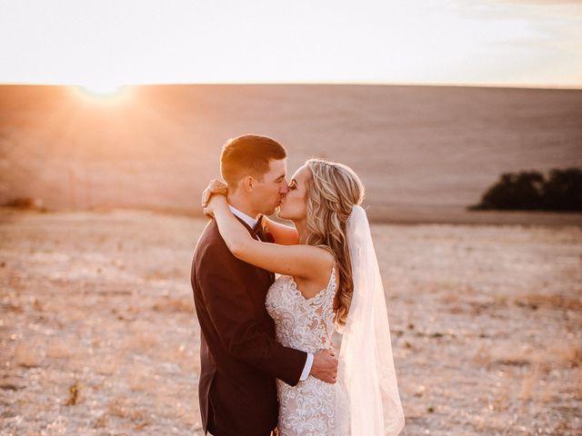 Danielle and Dalton's Wedding in Weston, Oregon 57