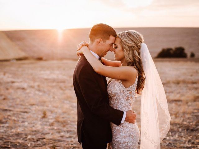 Danielle and Dalton's Wedding in Weston, Oregon 58