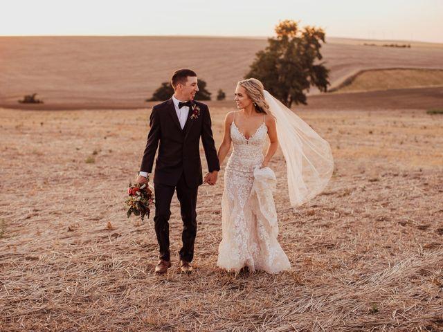 Danielle and Dalton's Wedding in Weston, Oregon 59
