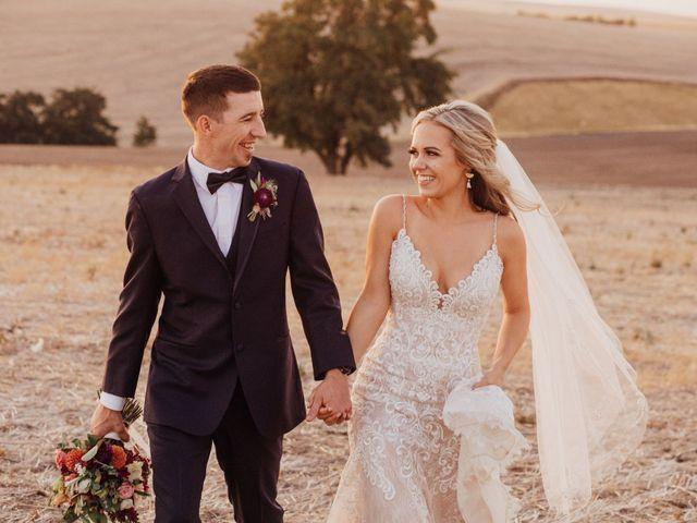 Danielle and Dalton's Wedding in Weston, Oregon 1