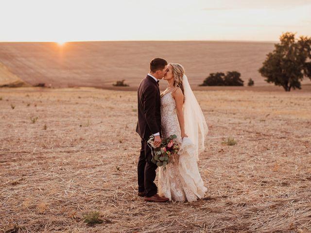 Danielle and Dalton's Wedding in Weston, Oregon 60