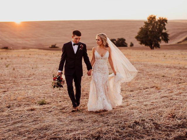 Danielle and Dalton's Wedding in Weston, Oregon 61