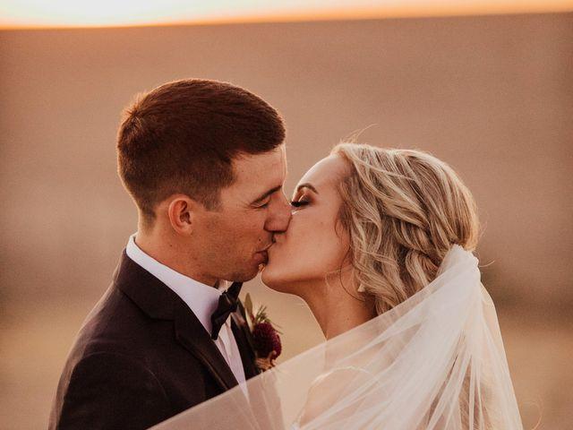 Danielle and Dalton's Wedding in Weston, Oregon 62
