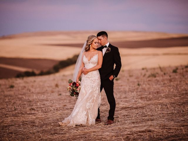 Danielle and Dalton's Wedding in Weston, Oregon 72