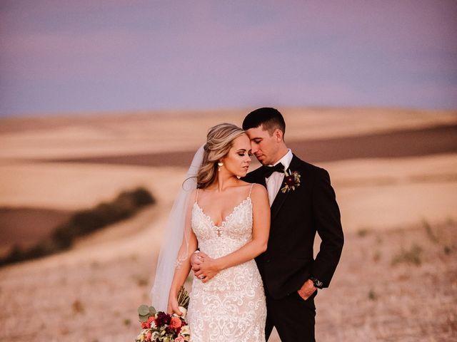 Danielle and Dalton's Wedding in Weston, Oregon 73
