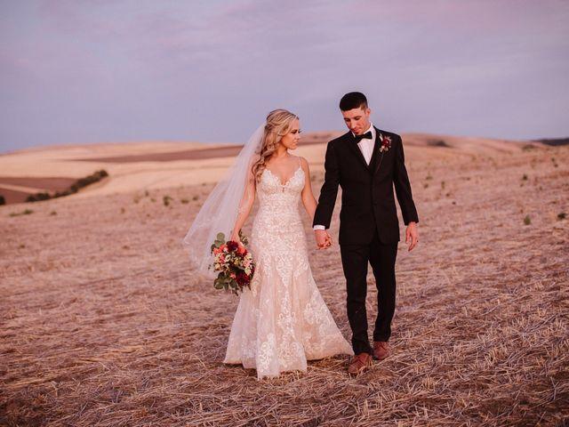 Danielle and Dalton's Wedding in Weston, Oregon 78