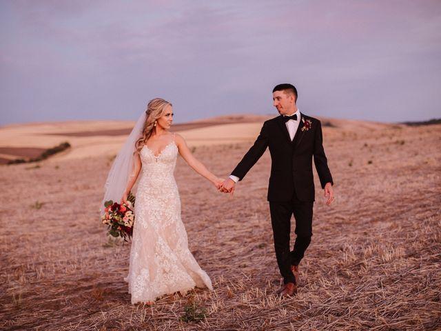 Danielle and Dalton's Wedding in Weston, Oregon 79