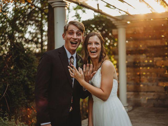 The wedding of Josh and Jessica