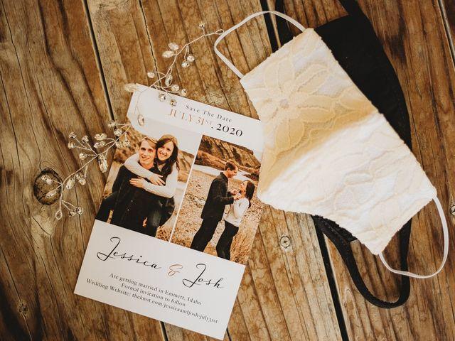 Jessica and Josh's Wedding in Emmett, Idaho 43