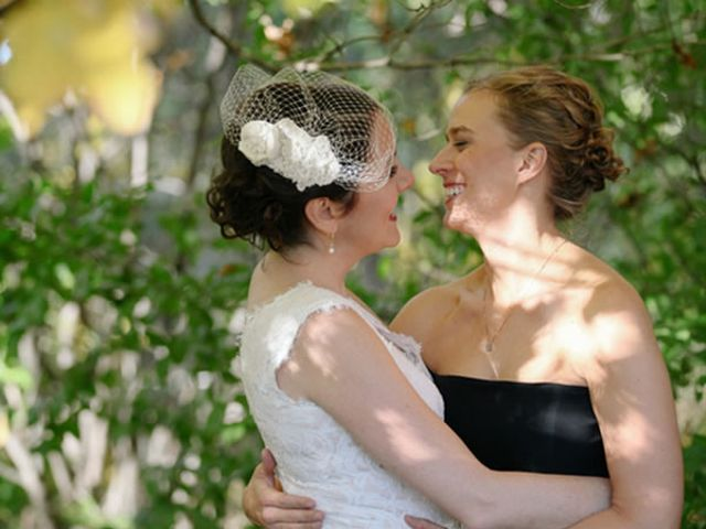 The wedding of Rebecca and Katy