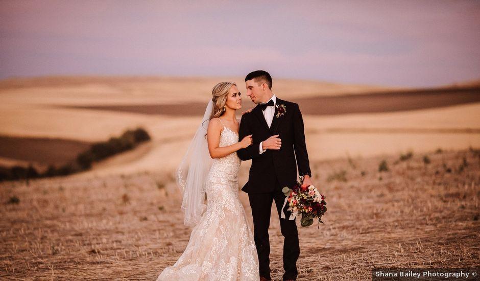 Danielle and Dalton's Wedding in Weston, Oregon