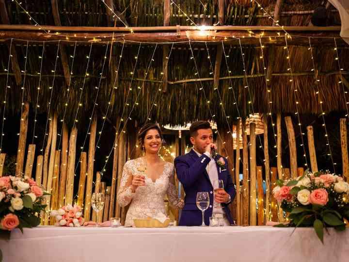 The wedding of Liz and Arturo