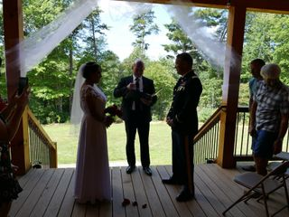 The wedding of Laura Freeman and Kirk 2