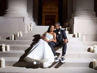 The wedding of Nicole Williams and Vincent Sanders