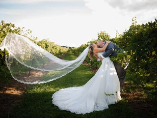 The wedding of Chad and Samantha