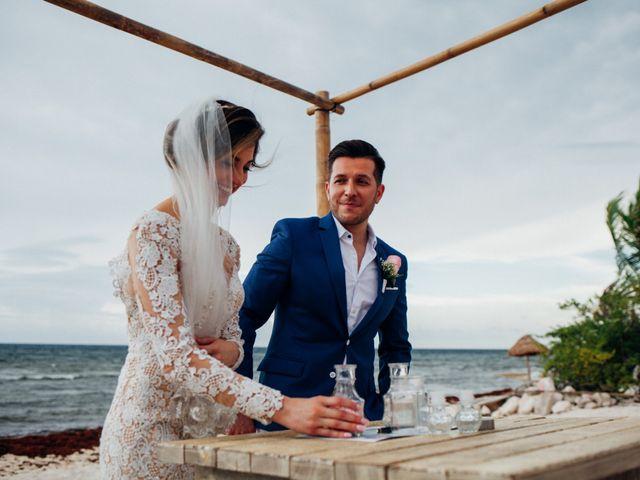 Arturo and Liz's Wedding in Playa del Carmen, Mexico 11