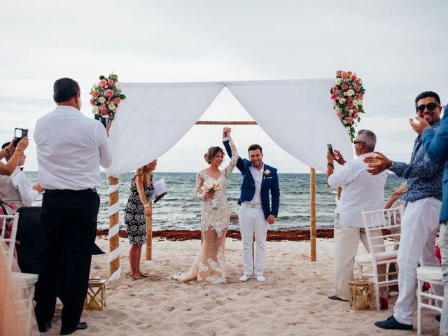 Arturo and Liz's Wedding in Playa del Carmen, Mexico 12