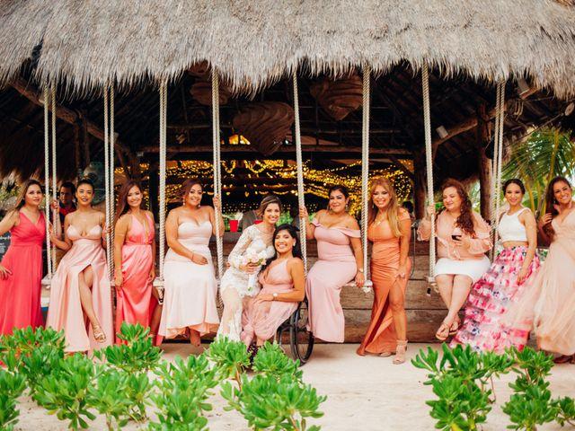 Arturo and Liz's Wedding in Playa del Carmen, Mexico 13