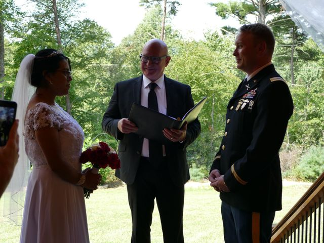 Kirk and Laura Freeman's Wedding in Mills River, North Carolina 3