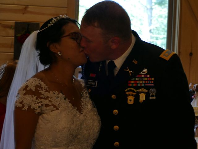 Kirk and Laura Freeman's Wedding in Mills River, North Carolina 4