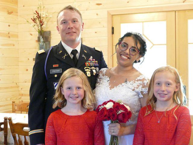 Kirk and Laura Freeman's Wedding in Mills River, North Carolina 5