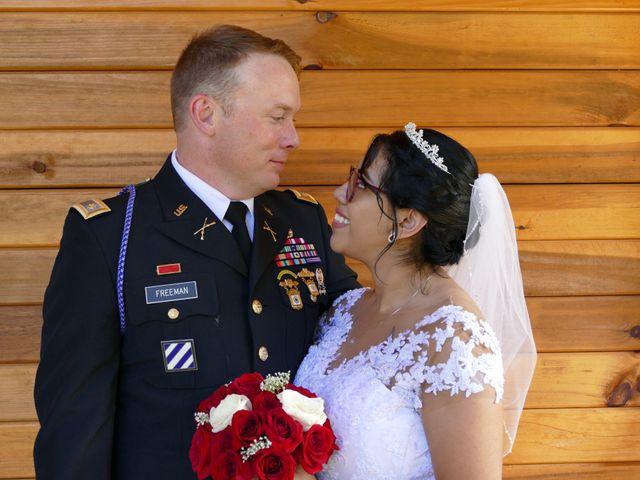 Kirk and Laura Freeman's Wedding in Mills River, North Carolina 6