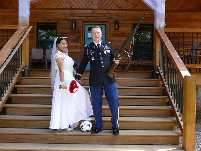 Kirk and Laura Freeman's Wedding in Mills River, North Carolina 9