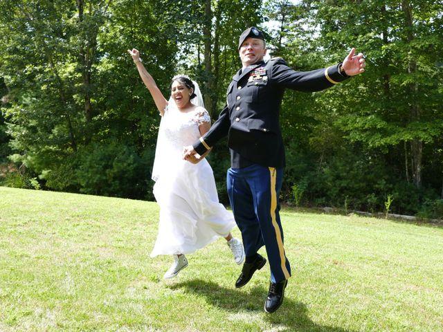 Kirk and Laura Freeman's Wedding in Mills River, North Carolina 12